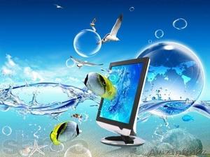 Ремонт компьютеров и ноутбуков в Актау. Замена экранов. С выездом. - Изображение #1, Объявление #1291454