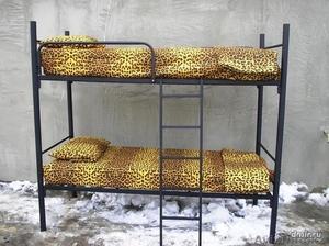 Кровати металлические двухъярусные для казарм, кровати трёхъярусные для рабочих. - Изображение #5, Объявление #1423110