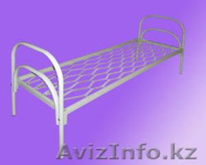 Кровати металлические двухъярусные для казарм, кровати трёхъярусные для рабочих. - Изображение #4, Объявление #1423110
