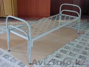 Кровати металлические двухъярусные для казарм, кровати трёхъярусные для рабочих. - Изображение #2, Объявление #1423110