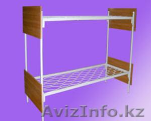 Кровати металлические двухъярусные для казарм, кровати для больниц, трёхъярусные - Изображение #1, Объявление #1433322