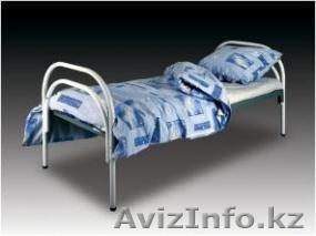 Кровати металлические двухъярусные для казарм, кровати трёхъярусные для рабочих., Объявление #1423110