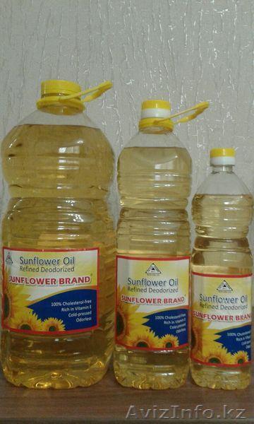 Продам масло подсолнечное в астане оптом