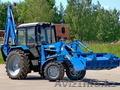 Экскаватор-погрузчик на базе трактора Беларус-82.1