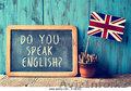Набор учеников английского языка в языковые курсы